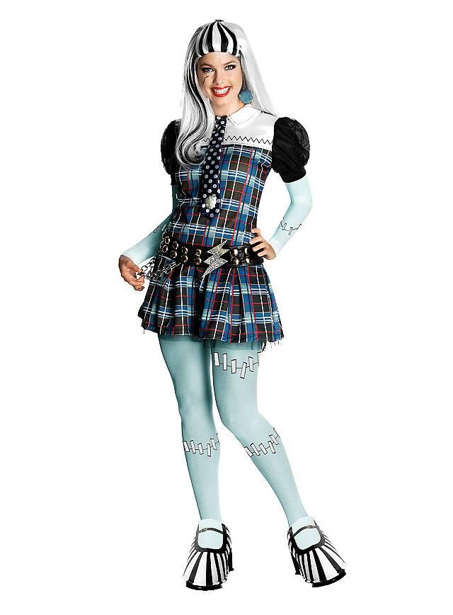 Monster High Frankie Stein Kostüm Maskworldcom