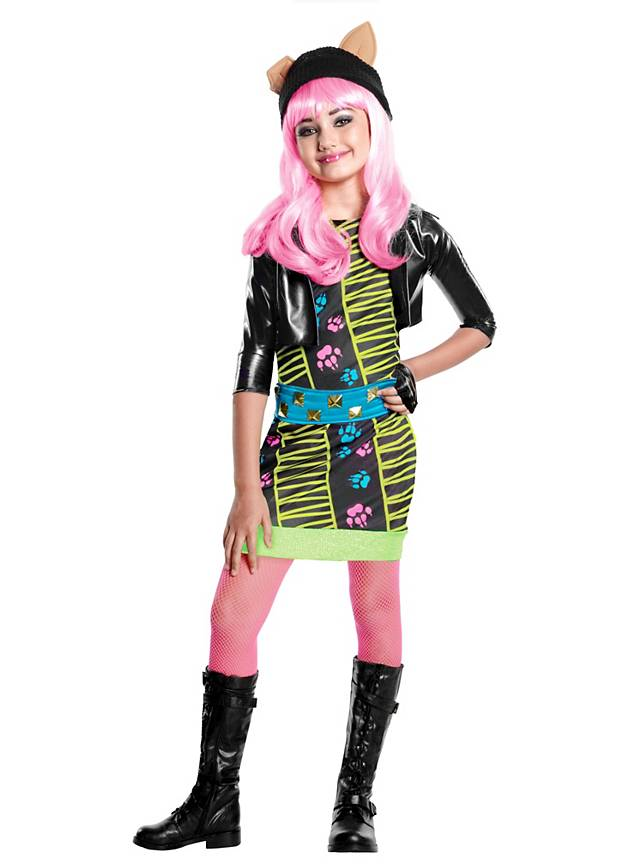 Monster high howleen wolf kids costume - Masque monster high ...