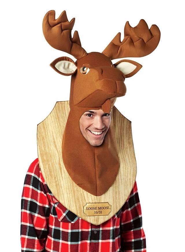 Moose Wall Trophy Costume