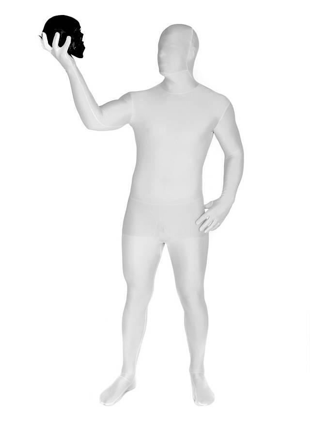 Morphsuit blanc Déguisement intégral