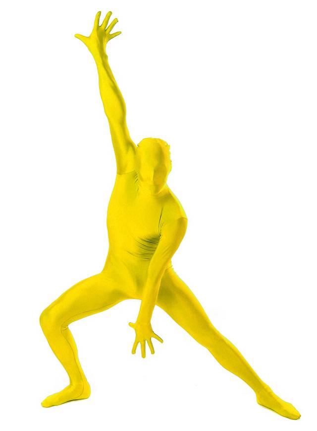 Morphsuit jaune Déguisement intégral