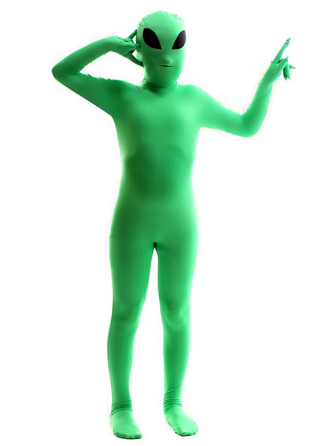 Morphsuit Kids Alien Full Body Costume