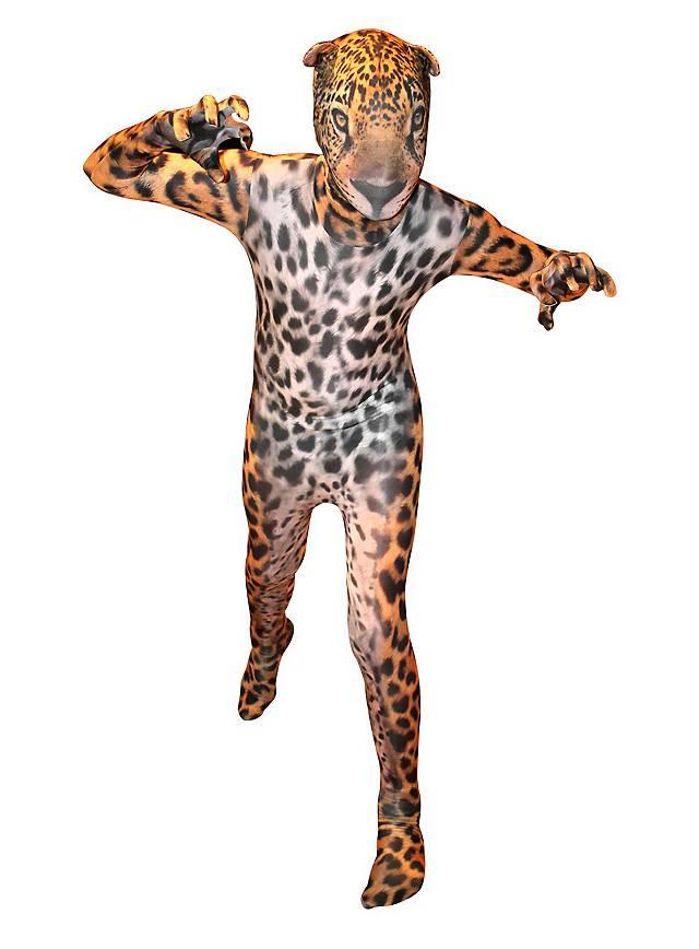 Morphsuit Kinder Jaguar Ganzkörperkostüm