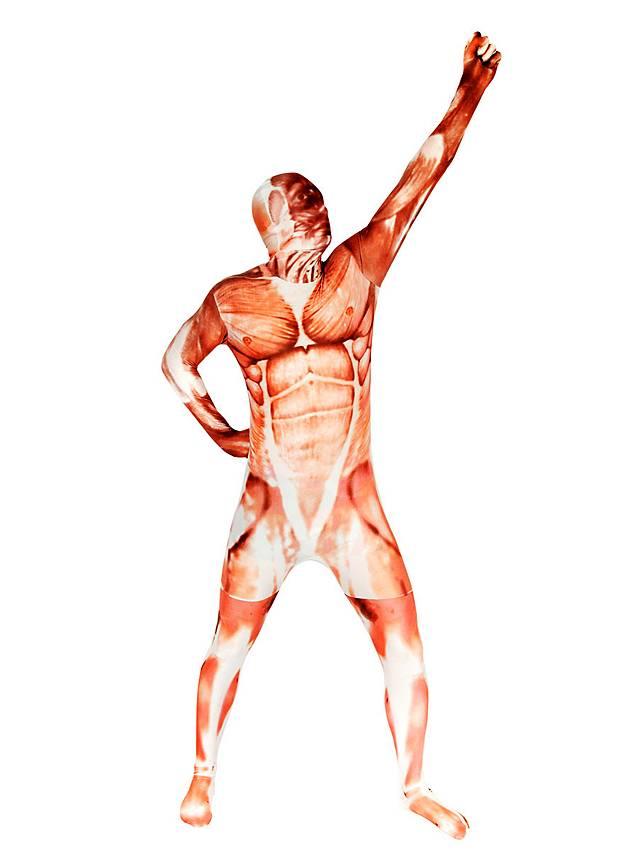 Morphsuit Muskel Ganzkörperkostüm