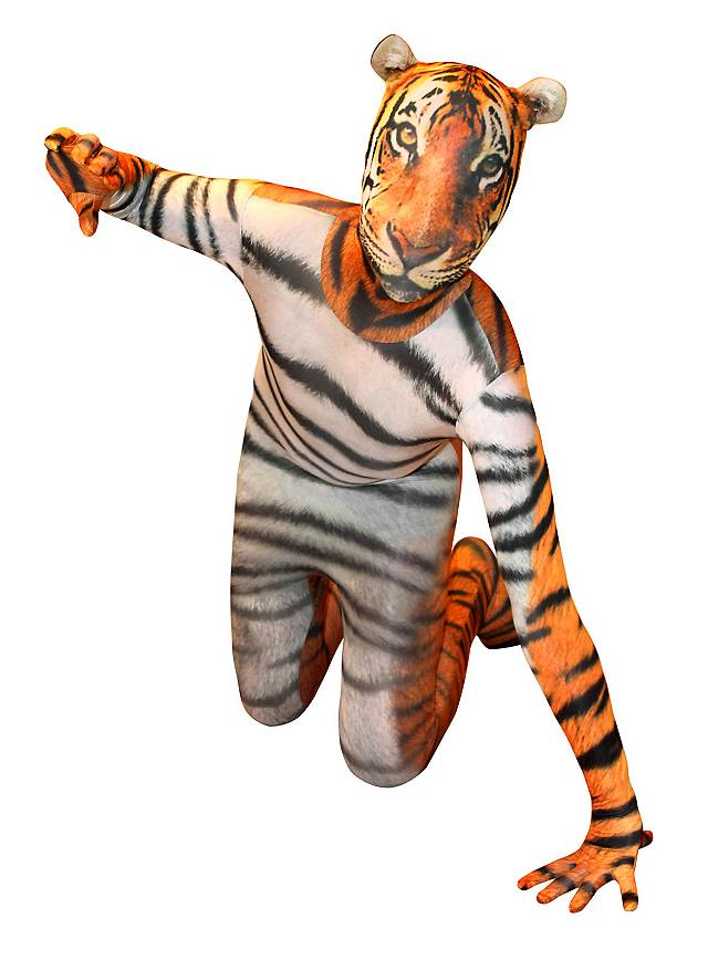 Morphsuit Tiger Full Body Costume