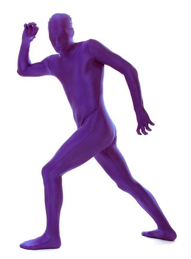Morphsuit violet Déguisement intégral