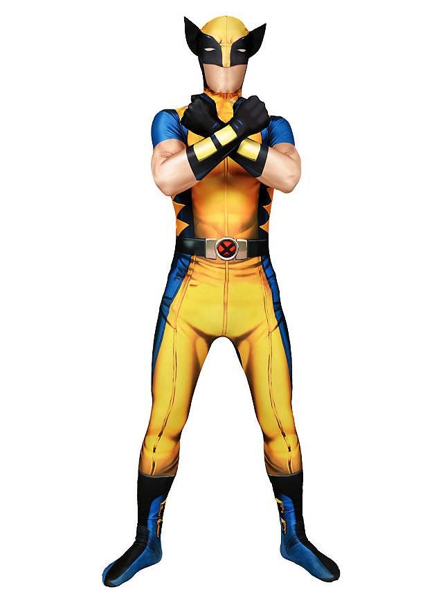 Morphsuit Wolverine Ganzkörperkostüm