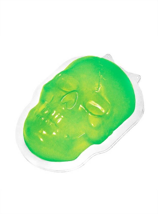 Moule à pudding d'Halloween Crâne