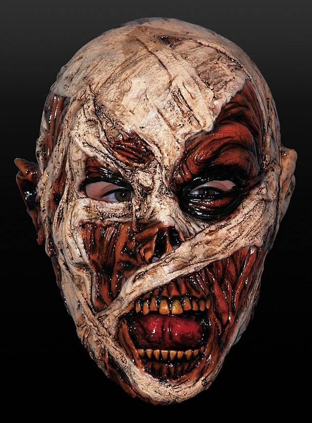 Mumienmaske Maske aus Latex