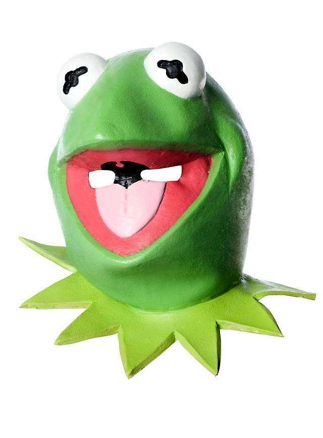 muppets show kermit der frosch maske aus latex. Black Bedroom Furniture Sets. Home Design Ideas