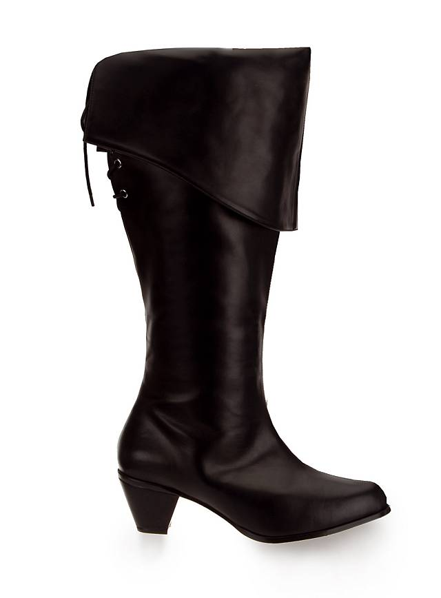 Musketeer Boots Women black
