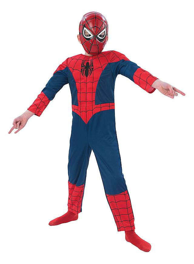 original lizenz spider man kost m f r kinder inkl maske. Black Bedroom Furniture Sets. Home Design Ideas