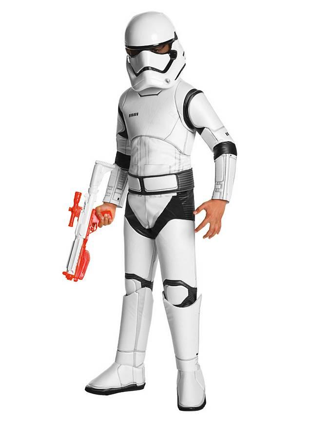original star wars vii storm trooper kost m f r kinder karneval 7 fasching ebay. Black Bedroom Furniture Sets. Home Design Ideas