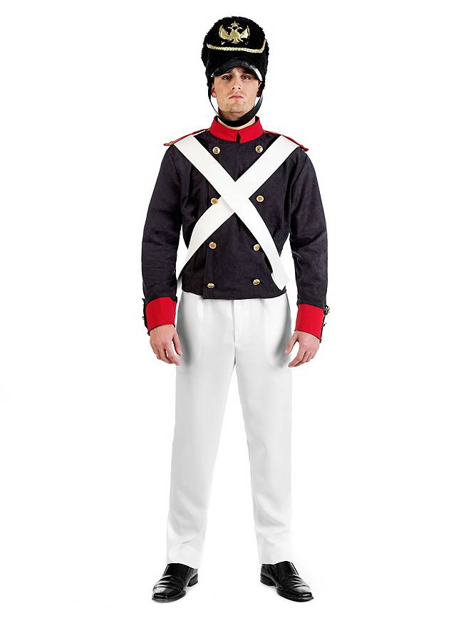 napoleonic soldier uniform costume. Black Bedroom Furniture Sets. Home Design Ideas