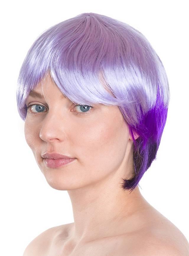 Nasty Girl violet Wig