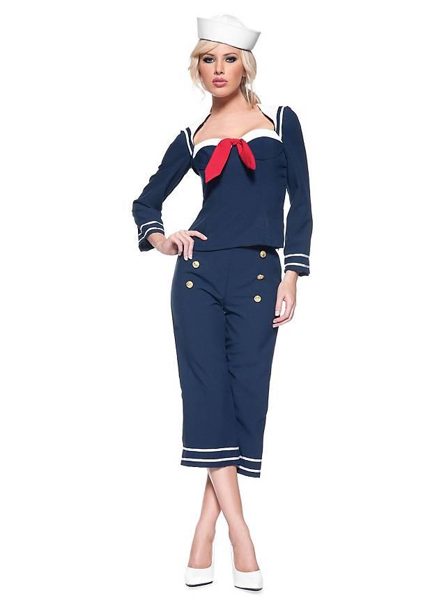 Matrosen Kostüm, Kapitänskostüm: Maritime Mottoparty Kostüme ...