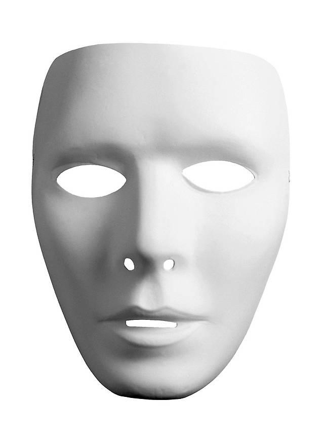 Neutralmaske Gesicht Mann