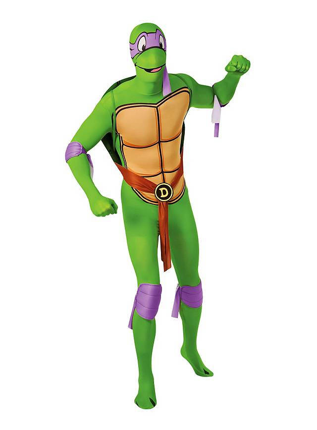 Ninja Turtles Donatello Ganzkörper-Kostüm