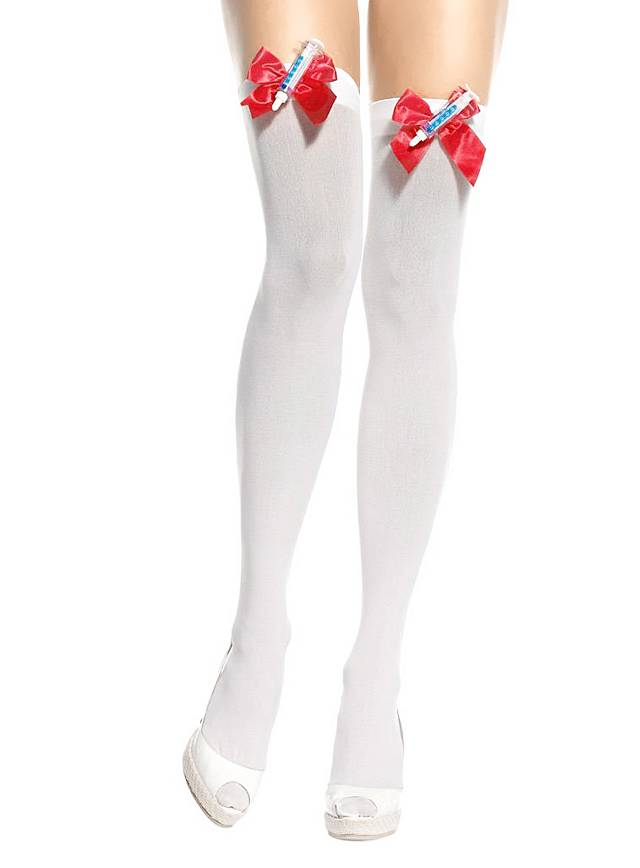 Nurse Stockings with Syringes