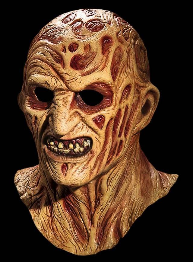 Official Freddy Krueger Latex Full Mask