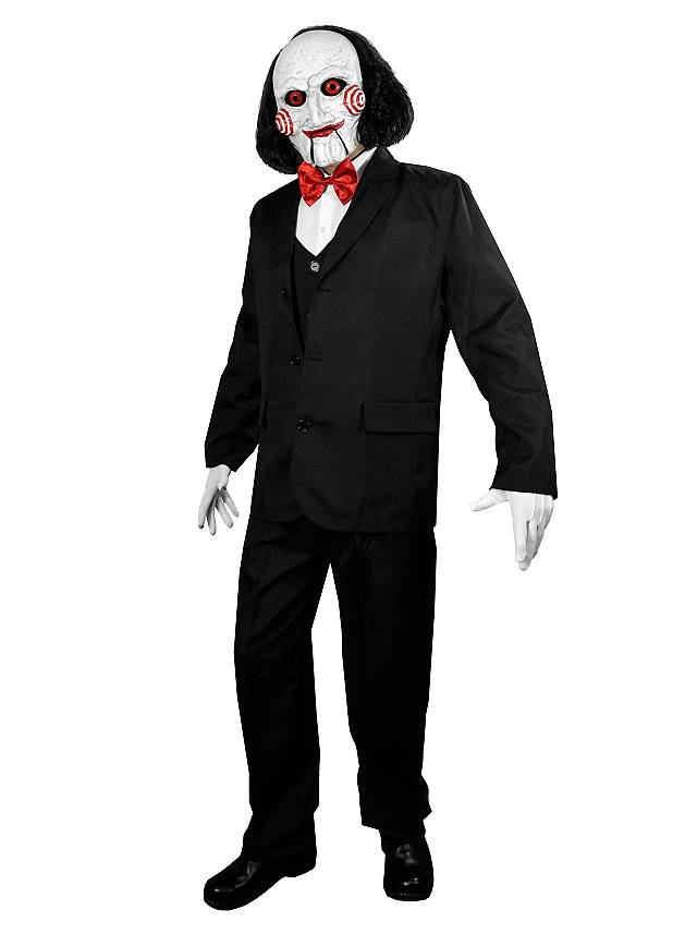 official saw billy deluxe costume with mask