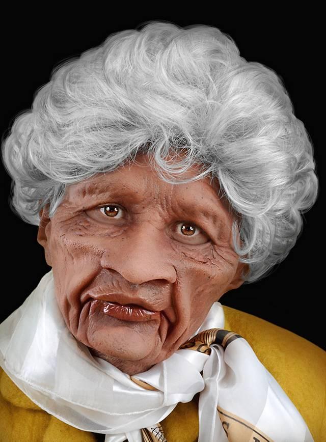 Oma ist eine Rosetten Leckerin