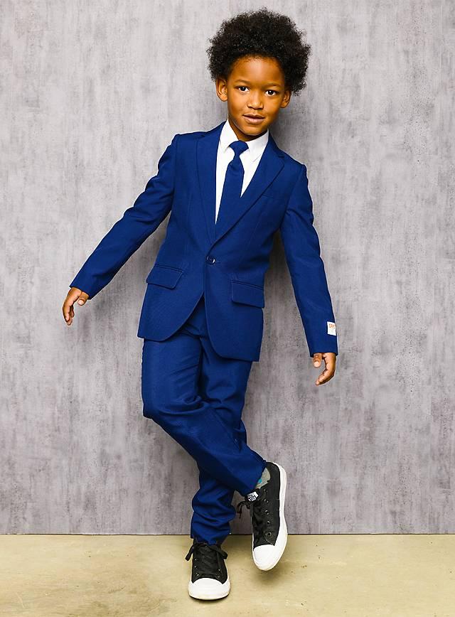 OppoSuits Boys Navy Royale Anzug für Kinder