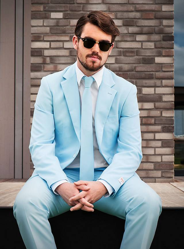 opposuits cool blue anzug. Black Bedroom Furniture Sets. Home Design Ideas