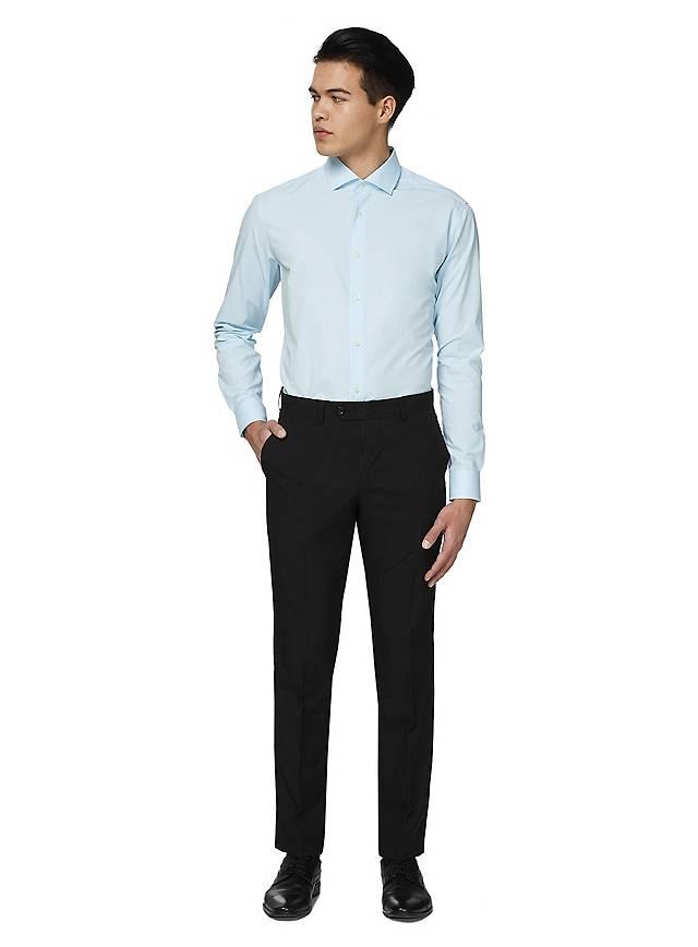 OppoSuits Cool Blue Hemd