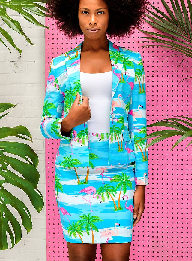 OppoSuits Flamingirl ladies suit