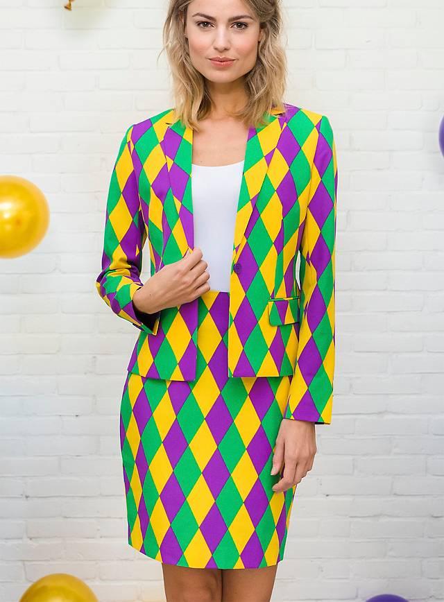 OppoSuits Harlequeen Damen Anzug