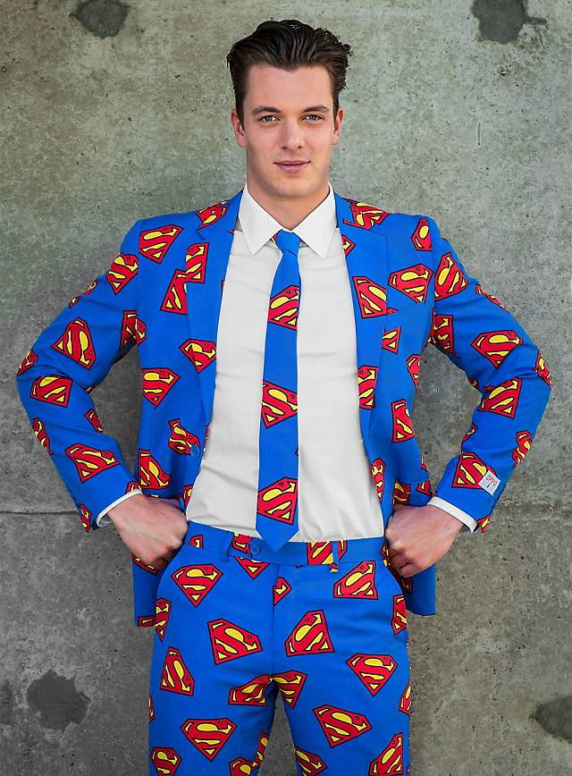 opposuits superman anzug. Black Bedroom Furniture Sets. Home Design Ideas
