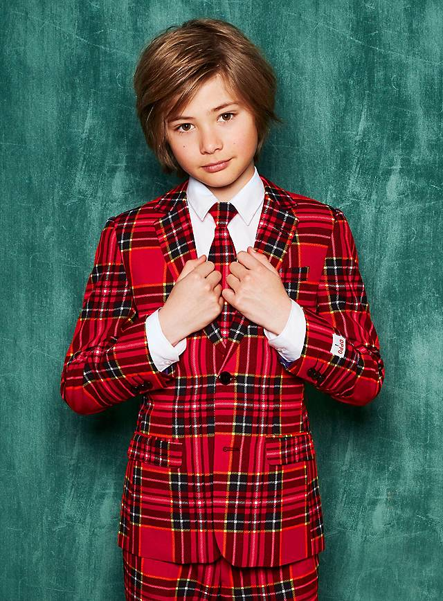 OppoSuits Teen Lumberjack Anzug für Jugendliche