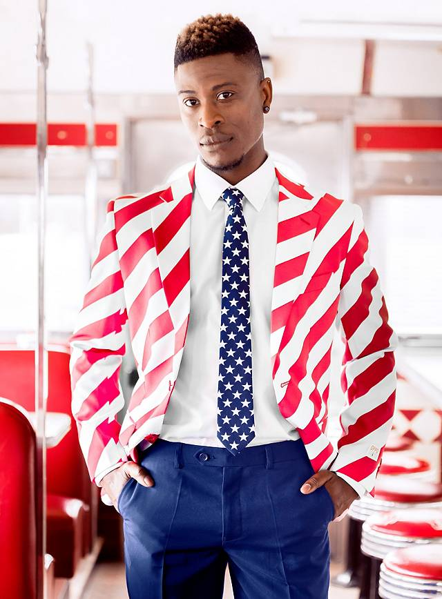 OppoSuits United Stripes suit