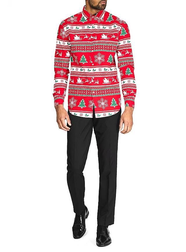 OppoSuits Winter Wonderland Hemd