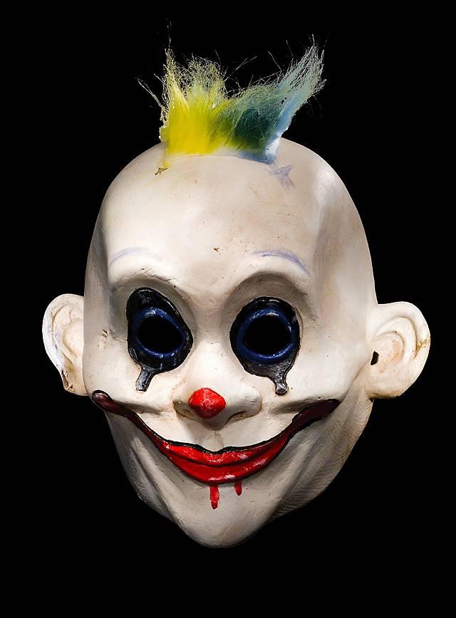 Original Batman Grumpy Clown Maske aus Latex