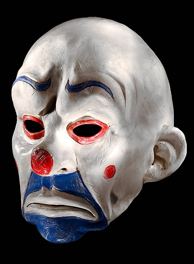 original batman joker clown maske aus latex. Black Bedroom Furniture Sets. Home Design Ideas