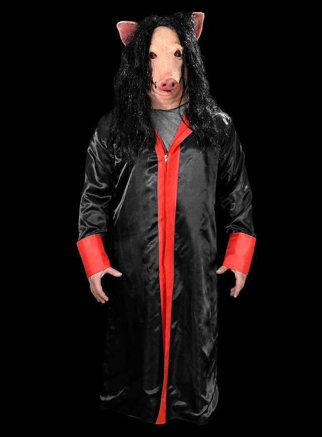 Original Saw Pig Deluxe Kostüm mit Maske