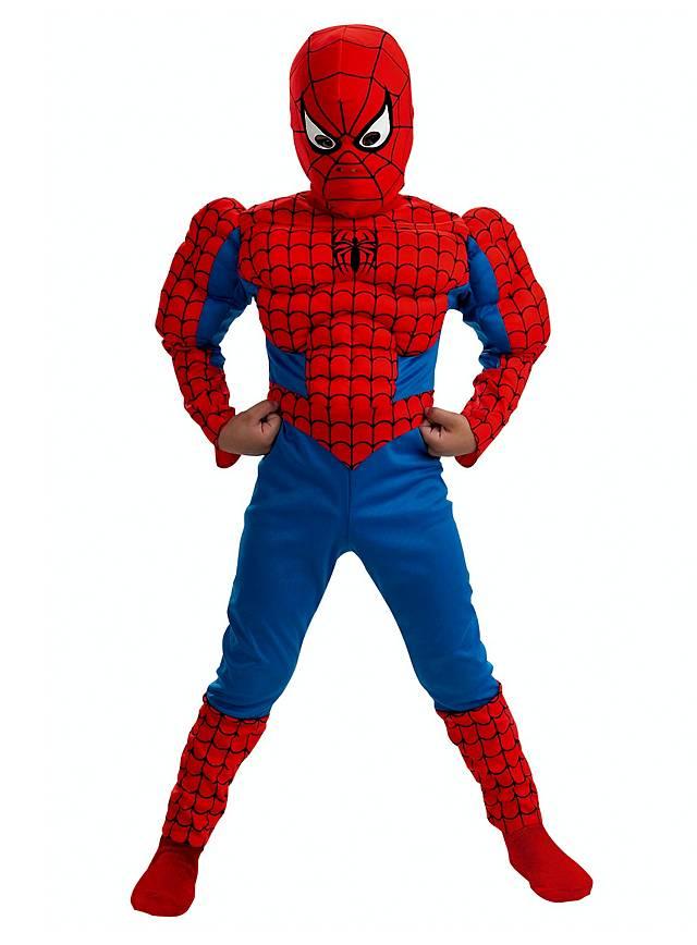 Original Spider Man Muscle Suit Kids Costume  sc 1 st  Maskworld & Original Spider Man Muscle Suit Kids Costume - maskworld.com