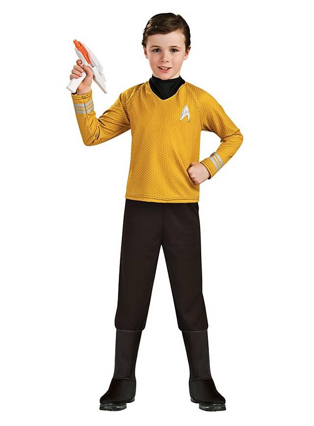 Original Star Trek Uniform Gold For Children Maskworld Com