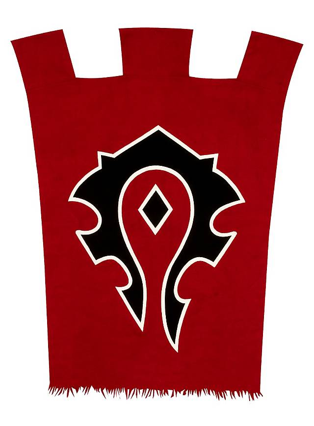 Original World of Warcraft Horde Banner