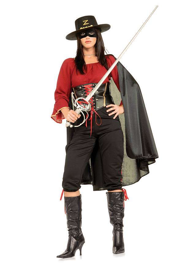 Original Zorro Lady Costume