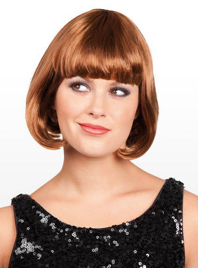 Pageboy brown Wig