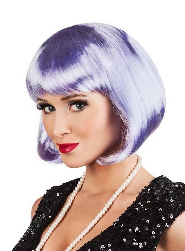 Pageboy Wig purple