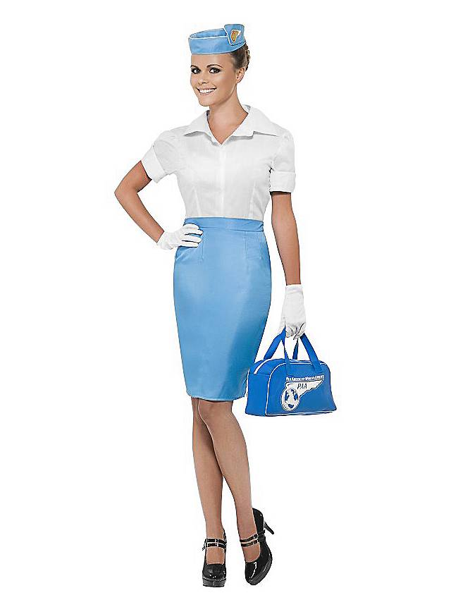 Pan Am Stewardess Kost 252 M Maskworld Com