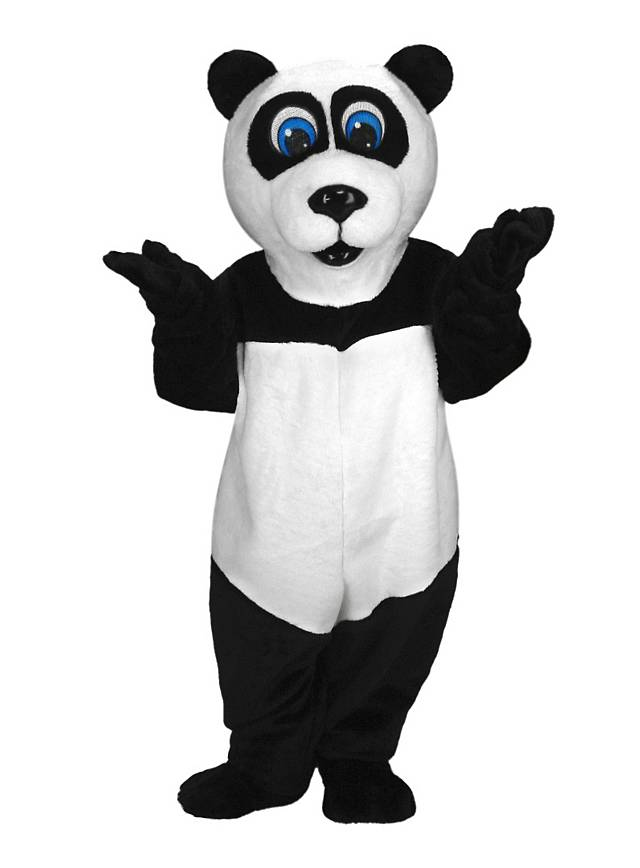 Panda Maskottchen
