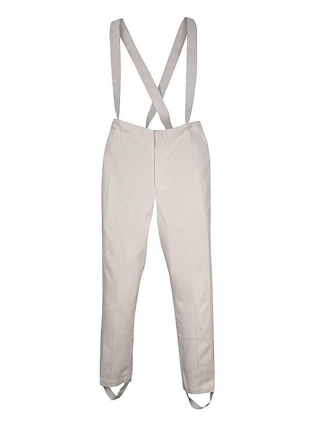 Pantalon d'uniforme blanc