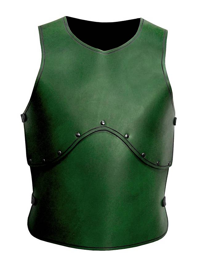 Peasant Warrior Leather Armor green