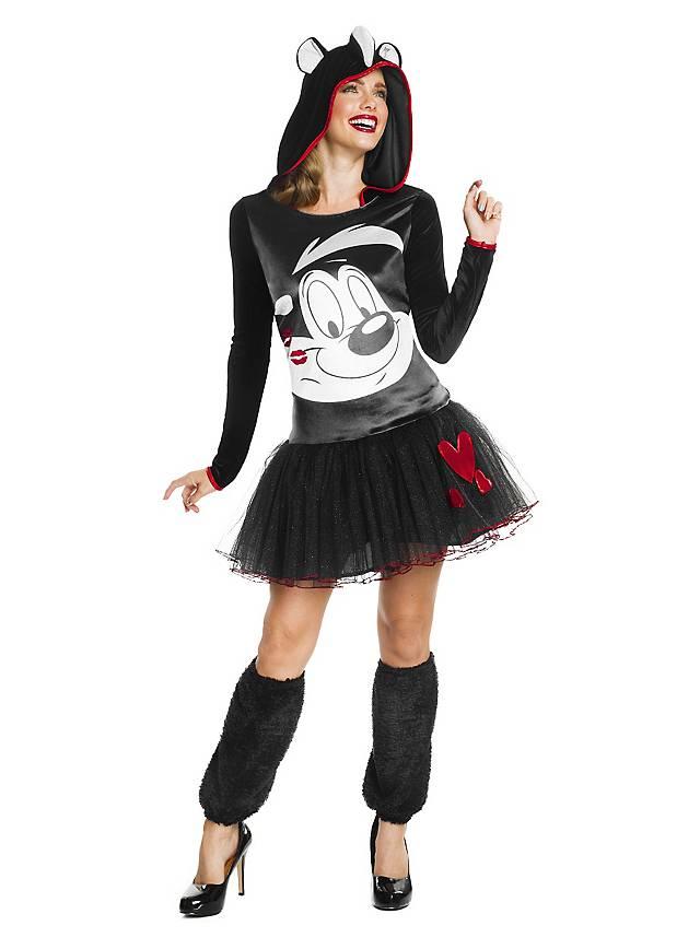 Pepe das Stinktier Hoodie Dress