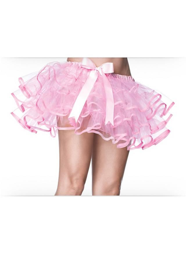 petticoat kurz mit schleife rosa. Black Bedroom Furniture Sets. Home Design Ideas